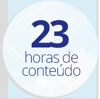 23 Horas de conteúdo